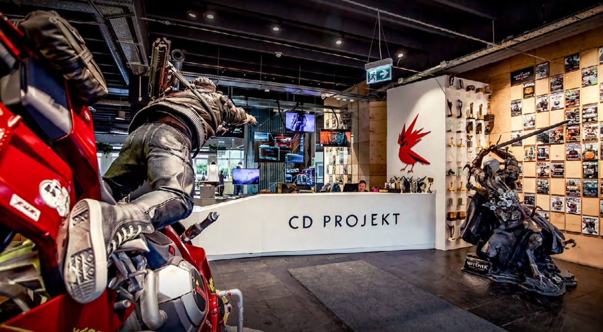 cd projekt office Intervju sa CD PROJEKT RED Senior Cinematic Animatorom Milošem Domuzom