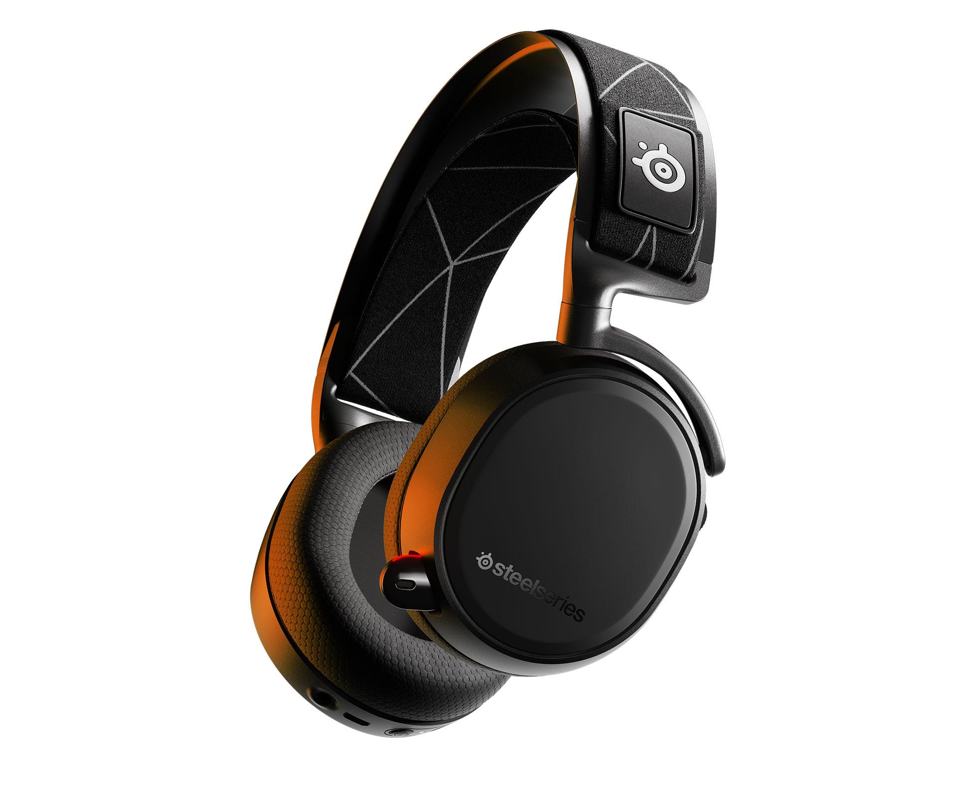 Arctis9 Hero OrangeLight Steelseries predstavio Arctis 9 slušalice