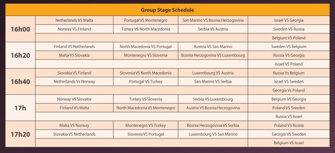 iesf tekken raspored1 Evropske Tekken 7 kvalifikacije za svetsko IeSF prvenstvo su odmah iza ugla! Krećemo 31.10. u 16:00!