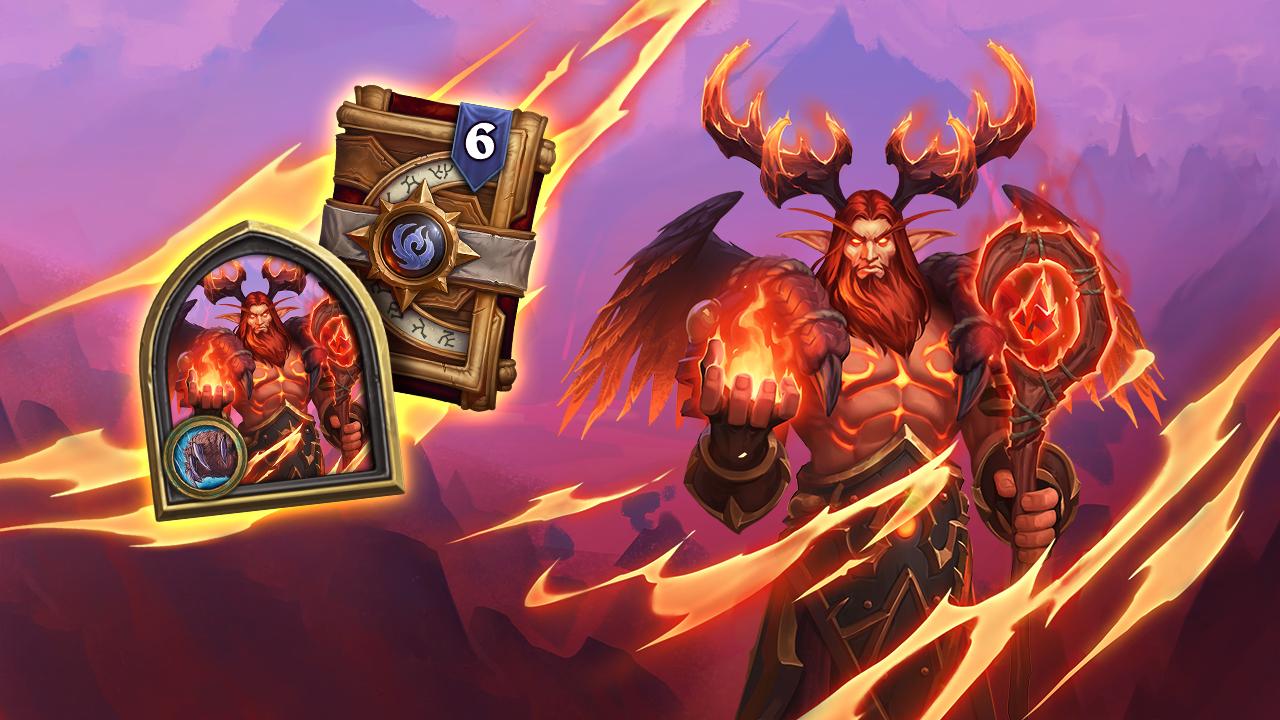 Druid of the Flame Malfurion Hero skin